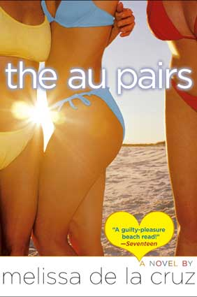 cover of the au pairs, a novel by melisssa de la cruz.  media credit: simon & schuster children's publishing.
